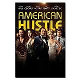 LIUXR American Hustle Movie Poster und Drucke Leinwand