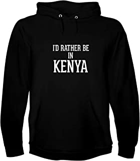 I`d Rather Be In KENYA - A Soft & Comfortable Men`s Hoodie Sweatshirt