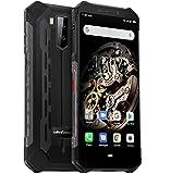 "Ulefone Armor X5 – 4G Outdoor Smartphone Ohne Vertrag, MTK6763 Octa-Core 3GB RAM 32GB ROM, Android 9.0 5.5"" IP68 / IP69K Robustes Handy, Dual-SIM, 13MP + 5MP + 2MP, 5000 mAh Akku, GPS NFC Schwarz"