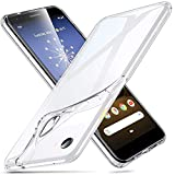 ESR Essential Zero Compatible with Google Pixel 3a Case, Made with Slim, Clear, and Soft TPU, Flexible Silicone Case for The Pixel 3a (2019 Release), Jelly Clear