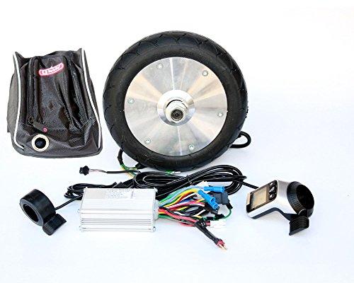 180W DIY Scooter Electric Niños Scooter Gearless Motor Kit Wuxing LCD Panel Acelerador de Pulgar Casero Electric Kid Cart
