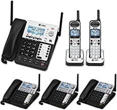 AT&T SynJ 4-Line Corded/Cordless Business Phone System with 3 Cordless Desksets & 1 Cordless Handsets