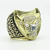 TWCUX 1997 Chicago-Bulls Jordan #23 Basketball Replica Championship Ring for Fans Men's Gift Size 9-13 with A Wooden Box (Without Box,11)