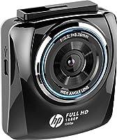 ヒューレットパッカード (hp) 200万画素 ドライブレコーダー f350p 簡単取付 Full HD Gセンサー搭載 & 駐車監視機能付 スーパーキャパシタ搭載 1年保証