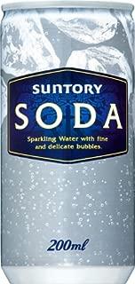 サントリー ソーダ 炭酸水 200ml×30本