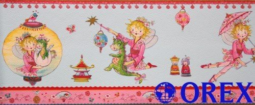 Villa Coppenrath Borte Kinderborte Vlies Prinzessin Lillifee 413335 blau Borte Kinder