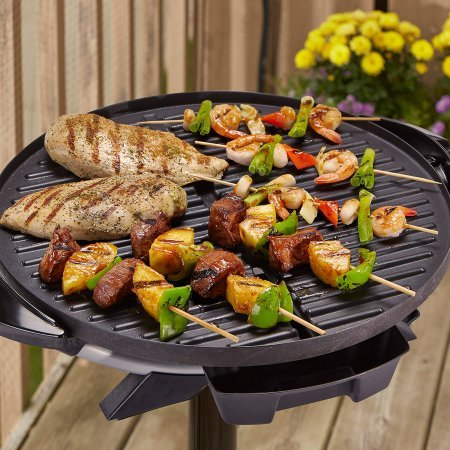 "George Foreman 240"" Indoor/Outdoor Grill, 15-Servings, Removable"