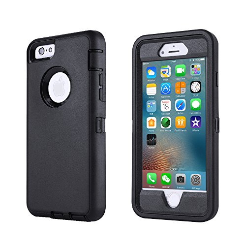 smartelf Case for iPhone 6/6s Heavy Duty With Built-in Screen Protector...