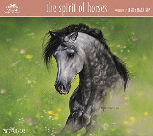 Lesley Harrison – The Spirit of Horses Wall Calendar (2017)