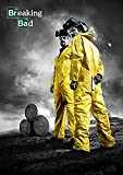 Theissen Breaking Bad Poster Borderless Vibrant Movie Poster Various - Matte Poster Frameless Gift 11 x 17 pulgadas (28 x 43 cm) *IT-00309
