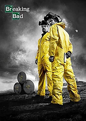 Theissen Breaking Bad Poster Borderless Vibrant Movie Poster Various - Matte poster Frameless Gift 11 x 17 inch(28cm x 43cm)*IT-00309