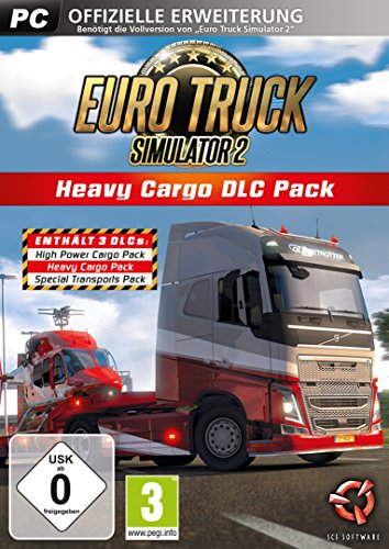 Euro Truck Simulator 2: Heavy Cargo DLC Pack