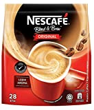 Nescafé 3-in-1 Premix Instant Coffee - Blend & Brew ORIGINAL- Imported from Nestle Malaysia(28 Sticks)