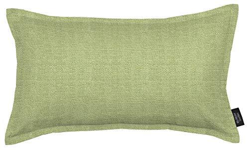 McAlister Textiles Federe e Cuscini Tinta Unita Savannah | Copricuscini Decorativi Trendy Tessuto Morbido | Arredo Divano Letto Sedie | 50cm x 30cm | Verde Salvia | Forma Rettangolare