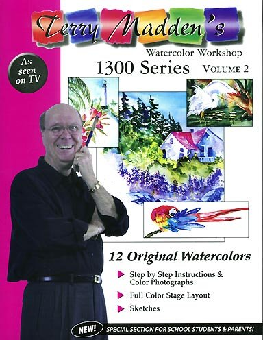 Terry Madden's Watercolor Workshop: 1300 series, Volume 2