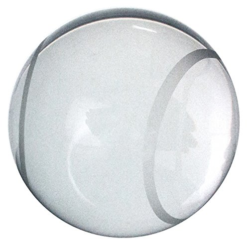 Amlong Crystal Tennis Ball Paperweight 3 inch with Gift Box