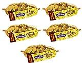 Hitschler Kaubonbons mit Kakao | Goldmünzen aus Schokolade | 5x130g