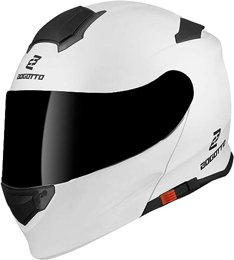 Bogotto V271 Motorcycle Flip Up Helmet M Auto