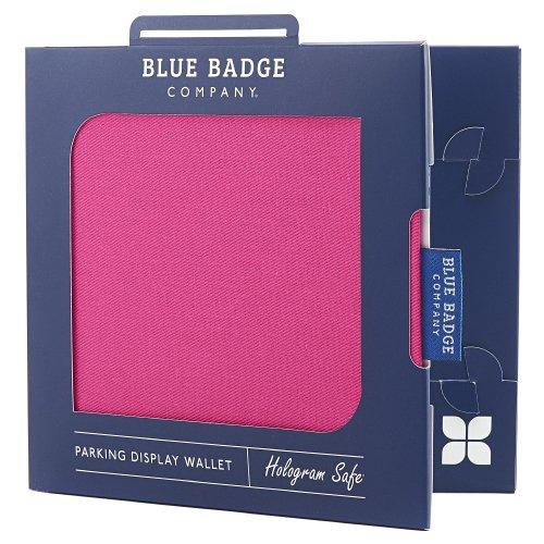 Blue Badge Company PNK-PKPA-6161 - Funda para Tarjetas de Aparcamiento para discapacitados, Color Rosa