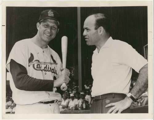 """Stan Musial & Joe Garagiola"" Baseball: More Than A Game Network Special (7"" X 9"" Vintage Original Televison Promotional Photo)"