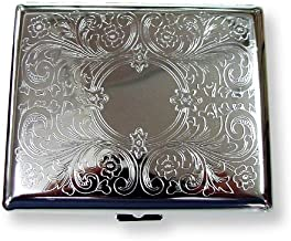 etched cigarette case
