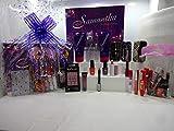 Gloria Perfume y maquillaje cesta de regalo para ella, 20piezas