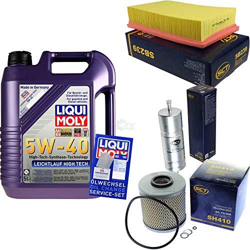 QR-Parts Set 85486164 3864 SB 239 ST 321 SH 410 5L Liqui Moly High Tech 5W-40 + paquete de filtros SCT-Germany 11233773