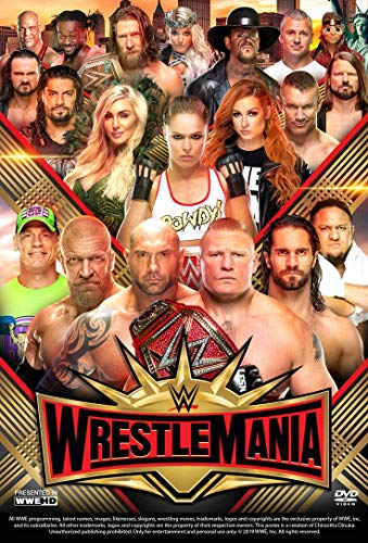 United Mart Poster WWE Wrestlemania 35 Poster Size 12 x 18 Inch Rolled Poster