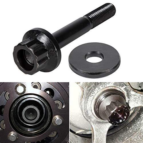 E-cowlboy 234-2503 Crank Harmonic Balancer Bolt with Washer for Chevrolet Gen III/IV LS1 LS2 LS3 LS6 Excludes LS7 Small Block 4.8L / 5.3L / 5.7L / 6.0L / 6.2L/ 7.0L Engines (M16X20)