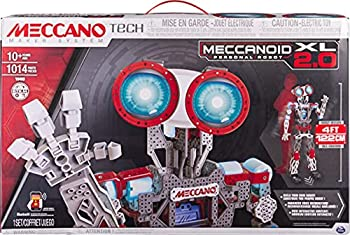 Erector by Meccano Meccanoid XL 2.0 Robot-Building Kit STEM Education Toy for Ages 10 & Up  Amazon Exclusive