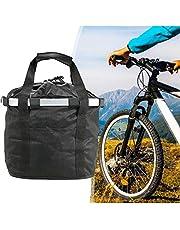 Fietstas, afneembare mand aan de voorkant van het huisdier, afneembare voorkant, canvas, fietsstuur, mand voor picknick, winkelen.