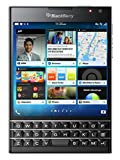 BlackBerry Passport - Smartphone de 4.5' (cámara 13 MP, 32 GB, Quad Core 2.2 GHz, teclado QWERTY)