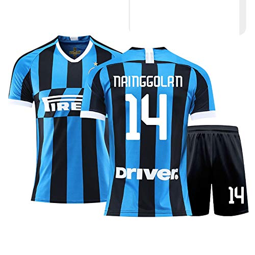 JYF Fußballtrikot Fußballtrikot # 14 Radja Nainggolan Atmungsaktives Sweatshirt-T-Shirt Der Männer Geschenke Für Freunde Und Familie (Color : E, Size : Large)