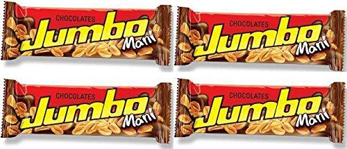 Jumbo chocolat au lait avec cacahuètes 1.41 oz. chaque -- 24 unités de 40 grammes