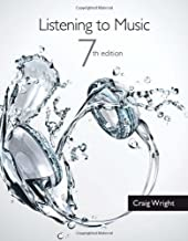 Listening to Music (with Introduction to Listening CD) (MindTap Course List) by Craig Wright(2013-01-01)