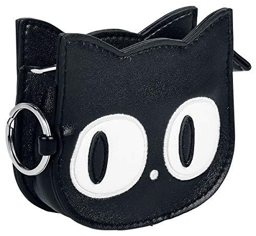 Banned Alternative Small Kitty Frauen Geldbörse schwarz 100% Polyurethan Gothic, Rockwear