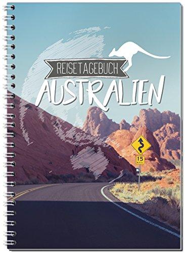 Reisetagebuch Australien zum Selberschreiben/Notizbuch A5 Ringbuch mit 120 Seiten/Packliste, Reiseplan, Zitate, Fun Facts, spannende Reise-Challenges - Von Sophies Kartenwelt