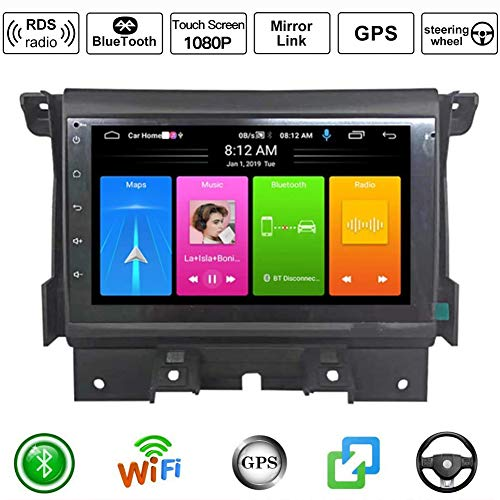 Android 9.0 Sat NAV 7-Zoll-Auto-Radio für Land Rover Discovery 4 GPS-Navigation Auto Stereo Multimedia-Player Video Carplay DSP RDSwith 4G WiFi Bluetooth