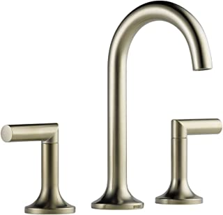Brizo 65375LF-BN Odin Widespread Bathroom Faucet, Brushed Nickel