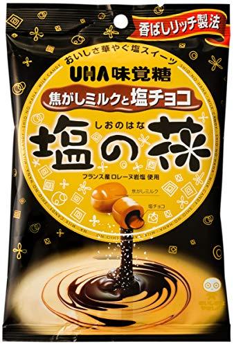 味覚糖 塩の花 焦がしミルクと塩チョコ 80g×6袋