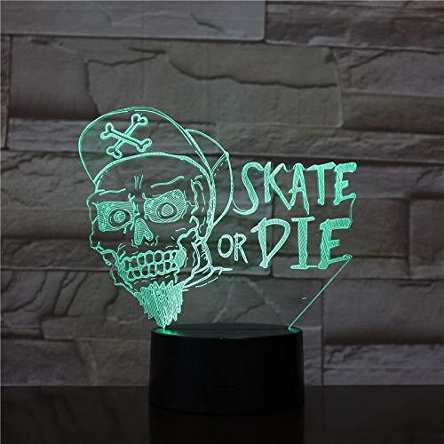 jiushixw 3D acryl nachtlampje met afstandsbediening kleurverandering, tafellamp of Japanse foto, goed uitziende Japanse collectie, donatieruimte in de buurt van bedlampje antiek messing illusie