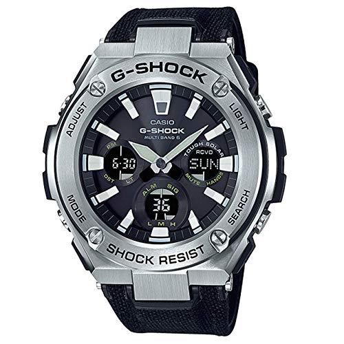 Casio Herren Analog – Digital Quarz Uhr mit Textil Armband GST-W130C-1AER