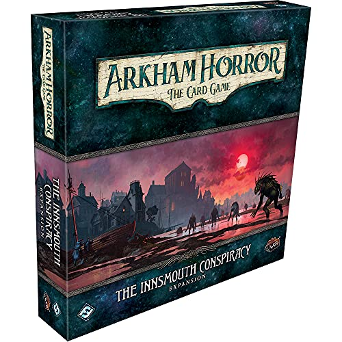 Arkham Horror The Card Game The Innsmouth Conspiracy Deluxe EXPANSION   Horror Game   Cooperative...