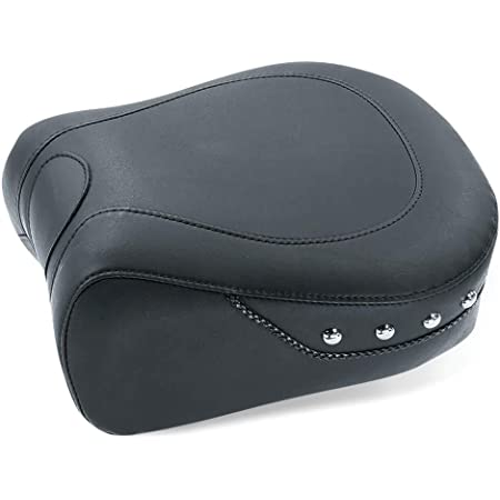Mustang Wide Touring Studded Recessed Rear Seat 79486