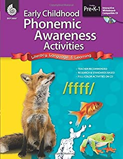 Phonemic Awareness Activities & Games for Early Learners (Early Childhood Activities)