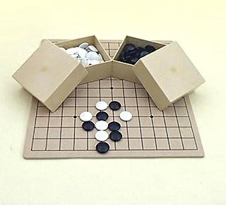囲碁セット MDF13路(裏9路)とP梅碁石とミニ角碁笥