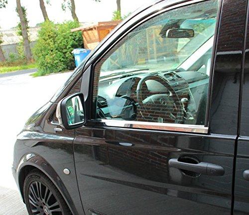 phil trade Mercedes W639 Vito Viano 2003-2014 Chrom Fensterleisten Zierleisten Edelstahl