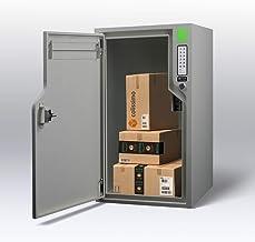 Aangesloten pakketbox voor brieven en pakketten, boksONE, Boks - Bluetooth Low Energy (parelgrijs - RAL 7035))