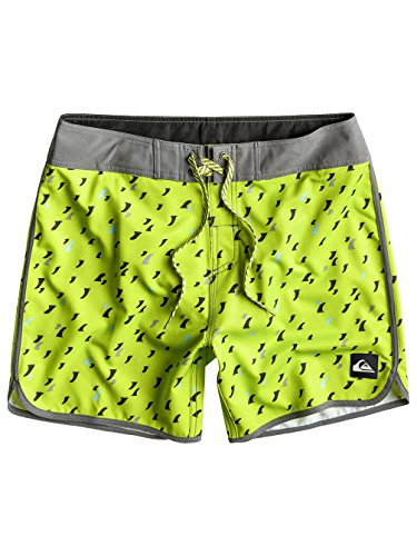 Quiksilver Herren Boardshorts Back The Pack E16, Lime Green, 33