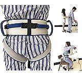 Cinghia di trasferimento con passanti per le gambe, trasferimento dell'imbragatura - Dispositivo per l'ausilio alla deambulazione della sicurezza medica, materiale traspirante regolabile